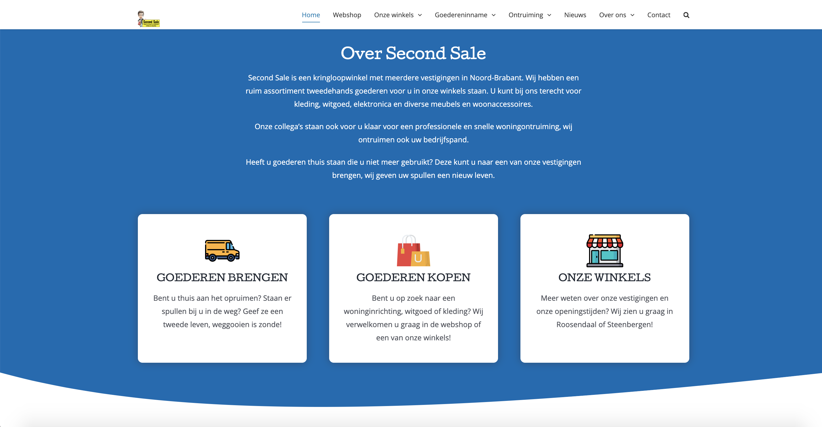 Website Second Sale Online